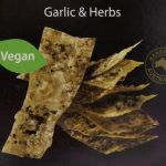 Garlic Herbs crackers - vegan delicious